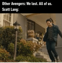 9gag, Memes, and Lost: Other Avengers: We lost. All of us.  Scott Lang: Poor Scott has no idea what's going on avengers4 avengersendgame marvel antman 9gag