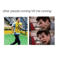 how are you: other people running VS me running how are you