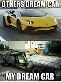 Memes, Trailer Park Boys, and Greasy: OTHERS DREAM CAR  Trailer Park Boys Greasy Memes  MY DREAM CAR Thanks Joel Tymchuk! http://bit.ly/TPBGames #byfansforfans #itsallinthegame