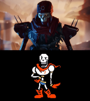 otherwindow:  Revenant is the best take on a realistic Papyrus tbh: otherwindow:  Revenant is the best take on a realistic Papyrus tbh