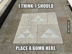 Try not to say that out loud when you come across it 😳 https://t.co/Ru9keqo9CR: OTHINK,ISHOULD  PLACE A BOMB HERE  MEMEEUL COM  VIA 9GAG.COM Try not to say that out loud when you come across it 😳 https://t.co/Ru9keqo9CR