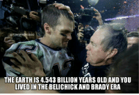 HAPPY TURKEY DAY! Thankful for these 2: OTOMBRADYSEGO  THE EARTHIS 4.543 BILLION YEARS OLD AND YOU  LIVED IN  THE BELICHICK ANDBRADY ERA HAPPY TURKEY DAY! Thankful for these 2