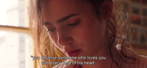 Heart, Eve, and Who: ou deserve someone who loves you  ith eve  t of his heart