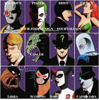 Good Knight Gothamites! Tomorrow is FreeComicBookDay so support your local comic book shops and pick up some free comics! I'll be spending the day at @TheComicBug so I hope to see some of you there! I leave you tonight with an account edit for this Bat-community using artwork from Dorkly.com: based on your zodiac sign, which Batman villain are you? My sign is Aquarius so I'm Deadshot! Tell us in the comments below your villain! As always, thanks for following on Instagram, Tumblr, Facebook, Twitter (HistoftheBatman) and subscribing on YouTube (History of the Batman) and to my podcast (linked in the bio)! Have a great night and we will have more History of the Batman tomorrow. Remember Gothamites, it's all about Peace, Love and Batman! [Photos Source: http:-bit.ly-2nUyRin] ✌🏼💜🦇😈: OUA  LIBRA  ARIES  OUR LO  STORYOHTIIEBATALAN  OUR VILLAIN  so  ER  CAPRICORN  SCORPIO  SA Good Knight Gothamites! Tomorrow is FreeComicBookDay so support your local comic book shops and pick up some free comics! I'll be spending the day at @TheComicBug so I hope to see some of you there! I leave you tonight with an account edit for this Bat-community using artwork from Dorkly.com: based on your zodiac sign, which Batman villain are you? My sign is Aquarius so I'm Deadshot! Tell us in the comments below your villain! As always, thanks for following on Instagram, Tumblr, Facebook, Twitter (HistoftheBatman) and subscribing on YouTube (History of the Batman) and to my podcast (linked in the bio)! Have a great night and we will have more History of the Batman tomorrow. Remember Gothamites, it's all about Peace, Love and Batman! [Photos Source: http:-bit.ly-2nUyRin] ✌🏼💜🦇😈