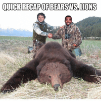 OUICKRECAPOF BEARS WIS LIONS CHIVSDET Lions OnePride Memes DetroitLionsMemes NFL bears funny