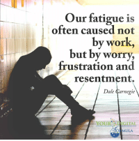Memes, Work, and 🤖: Our fatigue is  often caused not  by work,  but by worry,  frustration and  resentment.  Dale Carnegie  fo MULA <3 Your Digital Formula