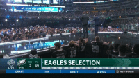 Dallas Cowboys, Philadelphia Eagles, and Sports: OUR FUTUREIS HOW  PEASCY  REAGLES SELECTION  2 49  DRAFT  LIVEPHI  NEXT DAL NE IND TB CIN CAR TB OAK ATL WAS PIT JAX MIN NE CLE  DRAFT  TNF  DRAFT  WATCH  NETWORK Thanks to David Akers, the Eagles just got a win over the Cowboys in April #NFLDraft https://t.co/YfB2mR3ceh