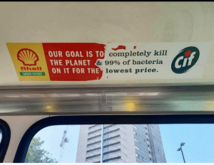 posted originally by u/hazardpie via /r/memes https://ift.tt/2MbqsoF: OUR GOAL IS TO completely kill  THE PLANET & 99% of bacteria  ON IT FOR THE lowest price.  Cif  Shell  GREEN FUTURE posted originally by u/hazardpie via /r/memes https://ift.tt/2MbqsoF