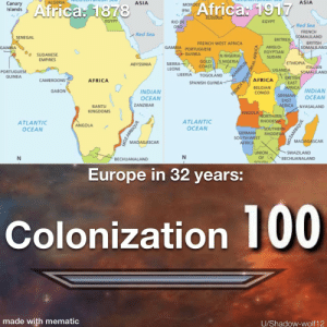 Our homework was to make a meme about colonization...: Our homework was to make a meme about colonization...