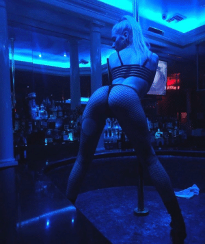 Club, Memes, and Girl: Our Key Girl Steph is working the pole down in NOLA! 🔥 . . Stop by the Penthouse New Orleans Club and experience the show first hand. https://t.co/kO2GWKBsvn
