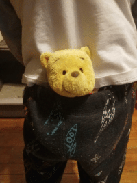 Family, Running, and Kid: Our kid just caused a family panic by running into the room and telling us he had Pooh in his pants.