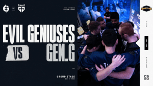Our knives are sharp, our weapons are loaded, we're ready to take on @GenG in today's @DreamHackCSGO Masters match! #EGWIN  📺 https://t.co/IGrT5J9hAf https://t.co/vkMsJBAQWY: Our knives are sharp, our weapons are loaded, we're ready to take on @GenG in today's @DreamHackCSGO Masters match! #EGWIN  📺 https://t.co/IGrT5J9hAf https://t.co/vkMsJBAQWY