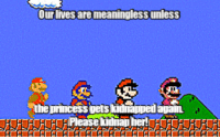 """<p><a class=""""tumblr_blog"""" href=""""http://life-insurancequote.tumblr.com/post/147281730760"""">life-insurancequote</a>:</p> <blockquote> <p>The Mario Brothers are crazy!<br/> FOLLOW US for more brilliance</p> </blockquote>: Our lives are meaningless unless  the princess gets <p><a class=""""tumblr_blog"""" href=""""http://life-insurancequote.tumblr.com/post/147281730760"""">life-insurancequote</a>:</p> <blockquote> <p>The Mario Brothers are crazy!<br/> FOLLOW US for more brilliance</p> </blockquote>"""