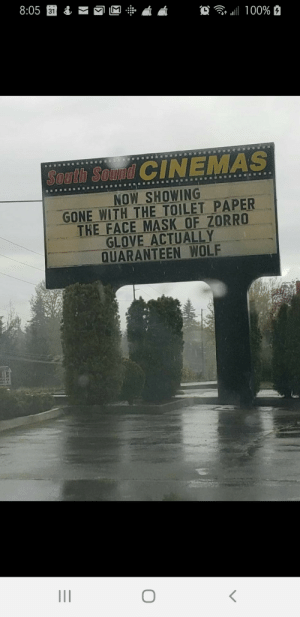 Our local theater has a sense of humor. :-): Our local theater has a sense of humor. :-)