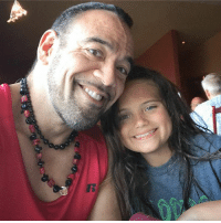 Love, Memes, and Girl: Our lunch sushi time. I gotta get my love joy fix from my biggest fan and my favorite girl Kiana! I love my daughter so much and I am so thankful to be her daddy!   #tadthedietcoach #positivemuscle #daddysgirl #sushi #joy