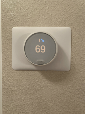 Our NICE thermostat: Our NICE thermostat