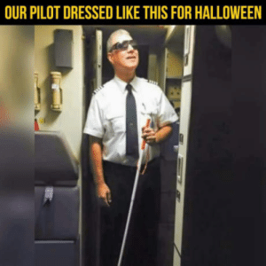 Halloween, Free, and Heart: OUR PILOT DRESSED LIKE THIS FOR HALLOWEEN Free heart attack