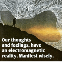 """Energy, Memes, and Joel Osteen: our thoughts  and feelings, have  an electromagnetic  reality. Manifest wisely. """"The first place we lose the battle is in our own thinking. If you think it's permanent then it's permanent. If you think you've reached your limits then you have. If you think you'll never get well then you won't. You have to change your thinking. You need to see everything that's holding you back, every obstacle, every limitation as only temporary."""" - Joel Osteen lawofattraction energy frequency vibrations perspective freeyourmind letgo behappy balance manifesting awakespiritual"""