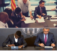 Soccer, Feet, and Feets: Ousmane Dembele:  - Plays with both feet - Writes with both hands  😳👏😂 https://t.co/5Z9T44GJ0q