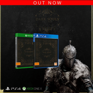 Prepare to Die again, Dark Souls Trilogy out now! ⚔️  Get it here: http://bit.ly/DARKSOULSTRIL: OUT NOW  DARK SOULS  TRIDOGY  DARK SOULS  DARK SOULS Prepare to Die again, Dark Souls Trilogy out now! ⚔️  Get it here: http://bit.ly/DARKSOULSTRIL