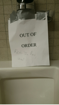 OUT OF  ORDER  nha Me⚰irl