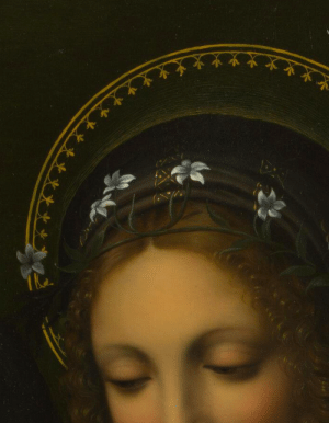 overdose-art:Saint Catherine (detail), After Bernardino Luini, 1510 : overdose-art:Saint Catherine (detail), After Bernardino Luini, 1510