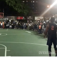 D'Angelo Russell just hit the game winner at Dyckman park in NYC. via @overtime Tags: Bang Money Dlo Nets: OVERTIME D'Angelo Russell just hit the game winner at Dyckman park in NYC. via @overtime Tags: Bang Money Dlo Nets