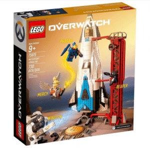 tacticalgrandma:  This is objectively the best lego set because it features 1) Pharmercy, 2) Gabe getting stuck in some scaffolding and trying to act like this was all part of his dastardly plan.: OVERWATCH  Ages/edades  PHARAH  9+  75975  WATCHPOIN  GIBRALTAR  730  pcs/pzs  1B11  Builing by  Jboet deconstruction  iguete poo Canstruir  MERCY  REAPER  9  pD tacticalgrandma:  This is objectively the best lego set because it features 1) Pharmercy, 2) Gabe getting stuck in some scaffolding and trying to act like this was all part of his dastardly plan.