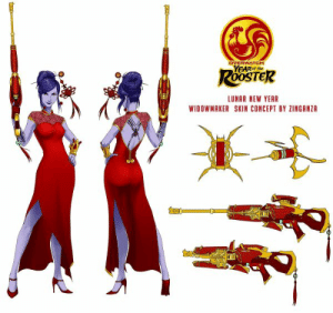 20+ Lunar New Year Meme Pictures and Ideas on Meta Networks: OVERWATCH  LUNAR NEW YEAR  WIDOWMAKER SKIN CONCEPT BY ZINGANZA 20+ Lunar New Year Meme Pictures and Ideas on Meta Networks