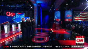 sidechica:  6-2-midnight:  tkyle:  My favorite moment from the Democratic Debate.  I missed this part  i hate and love gays at the same time : OW  LIVE  CNN  8:41 PMET  CNN DEMOCRATIC PRESIDENTIAL DEBATE BY @TKYLEMAC sidechica:  6-2-midnight:  tkyle:  My favorite moment from the Democratic Debate.  I missed this part  i hate and love gays at the same time