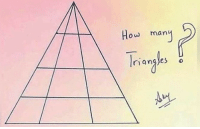 9gag, Memes, and Game: ow man  ou many How many triangles are there? Follow @9GAG for more fun. - - 🖼 Kumar Ankit - 9gag math geometry game