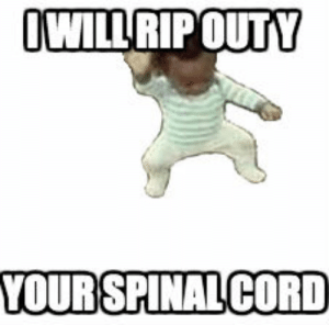 me_irl: OWILL RIP OUTY  YOUR SPINAL CORD me_irl