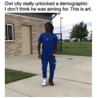 Dude, Memes, and 🤖: Owl city really unlocked a demographic  I don't think he was aiming for. This is art. This dude got moves 😂😂 • ➫➫ Follow @savagememesss for more posts daily Dancer: @yvngswag