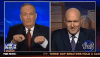 <p>Get pumped up!!! Bill O'reilly will be making an appearance on tonight&rsquo;s show!</p>: OX  EWS  channel  Reill  FACTOR  FOX NEWS  THREE GOP SENATORS HOLD A CLO <p>Get pumped up!!! Bill O'reilly will be making an appearance on tonight&rsquo;s show!</p>