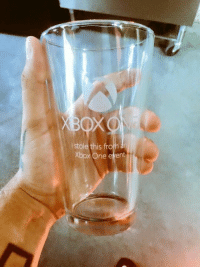 Memes, Xbox One, and Xbox: OXO  his from an  stole Xbox One e vent My friend got this at an Xbox event!