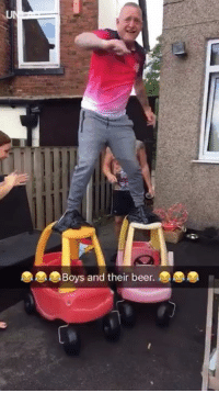 Beer, Dank, and Live: oys and their beer. Why women live longer than men 😂😂