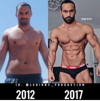 🔥😳INCREDIBLE TRANSFORMATION! Founder 👉: @king_khieu. Never quit. 2012 to 2017. Thoughts? 🤔 What do you guys think? COMMENT BELOW! Athlete: @ozanfitness. TAG SOMEONE who needs to lift! _________________ Looking for unique gym clothes? Use our 10% discount code: LEGIONS10🔑 on Ape Athletics 🦍 fitness apparel! The link is in our 👆 bio! _________________ Principal 🔥 account: @fitness_legions. Facebook ✅ page: Legions Production. @legions_production🏆🏆🏆.: OZAN KILI  PUMA Puma  I 6  LE G I O N S P R O D U C T I O N  2012  2017 🔥😳INCREDIBLE TRANSFORMATION! Founder 👉: @king_khieu. Never quit. 2012 to 2017. Thoughts? 🤔 What do you guys think? COMMENT BELOW! Athlete: @ozanfitness. TAG SOMEONE who needs to lift! _________________ Looking for unique gym clothes? Use our 10% discount code: LEGIONS10🔑 on Ape Athletics 🦍 fitness apparel! The link is in our 👆 bio! _________________ Principal 🔥 account: @fitness_legions. Facebook ✅ page: Legions Production. @legions_production🏆🏆🏆.