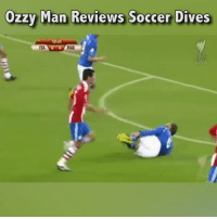 Here's me commentary on some classic soccer dives.🎙: Ozzy Man Reviews Soccer Dives  PAR  LİVE Here's me commentary on some classic soccer dives.🎙