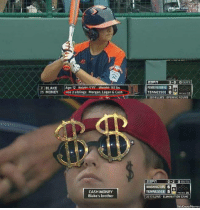 Cash Money: P BLAKE  Age: 12 Height S10 weight 151lbs  25 MONEY  Has 3 siblings: Morgan, Logan Cash  CASH MONEY  Blake's brother  3-0 0 OUTS  PENNSYLVANIA 3  TENNESSEE 0  mots 12  2014 LLNS OPENINGROUND  0-2  OUTS  WASHINGTON 6  TENNESSEE 5  2013 LLWS ELIMINATION GAME  We know Memes