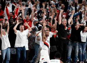 "Dame on his Game 5 winner against OKC: ""What can I say. That was for Seattle.""   (via Sports Business Radio): P Dame on his Game 5 winner against OKC: ""What can I say. That was for Seattle.""   (via Sports Business Radio)"