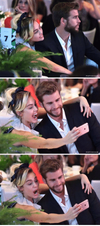 Cute, Girl Memes, and Ares: P O P S U G A R   POPSUGAR.   溅 miley and liam are so cute 😍😭