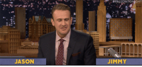"Target, youtube.com, and Work:  #P  TONIGHT  JASON  JIMMY <h2><b><a href=""https://www.youtube.com/watch?v=bHTbnDnIzPM"" target=""_blank"">Jimmy and Jason Segel spend their interview trying to work random words into the conversation in Word Sneak</a>! </b></h2>"