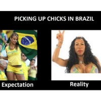 Good luck in Brazil guys!: PICKING UP CHICKS IN BRAZIL  zi  Reality  Expectation Good luck in Brazil guys!