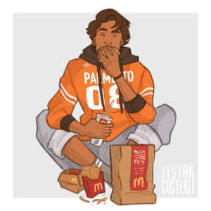 llstarcasterll: nicky is only in it for the post-scrimmage mcdonalds: PA M TO  LLSTAR  CASTERLL llstarcasterll: nicky is only in it for the post-scrimmage mcdonalds