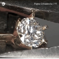 Dank, Diamond, and Artist: Pablo Cimadevila YT Artist turns a hex nut into a diamond ring  By Pablo Cimadevila