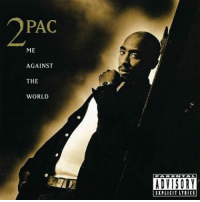 """Memes, 🤖, and 2pac: PAC  ME  AGAINST  THE  WORLD  ADVISORY  EXPLICIt LYRICS 22 years ago today, the late great 2pac released his third studio album """"Me Against The World"""" featuring the songs DearMama, MeAgainstTheWorld, and SoManyTears. What's y'all favorite track off the album? 🔥💯 @2pac RIP Legend HipHop History WSHH"""
