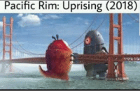 Pacific Rim, Rim, and Uprising: Pacific Rim: Uprising (2018)
