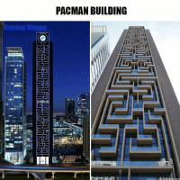 Love this! https://t.co/b6N8L76Z29: PACMAN BUILDING  Gaming Memes Love this! https://t.co/b6N8L76Z29