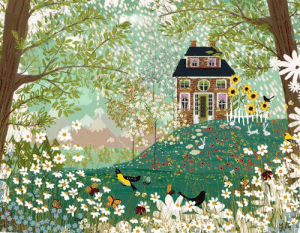 pagewoman: Garden Dream by Joy Laforme   : pagewoman: Garden Dream by Joy Laforme