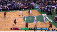 Celtics, Lebron, and Him: PAI  30  4CLE  2BOS 71st 8:45 13  TO: 7  TO: 7 Celtics hold LeBron to just 15 points (5-16 FG) and force him into 7 turnovers